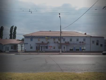 Автосервис Престиж в Одессе - Фасад СТО