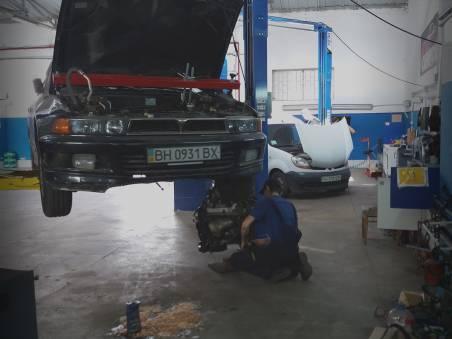Починка автомобиля в автосервисе Престиж
