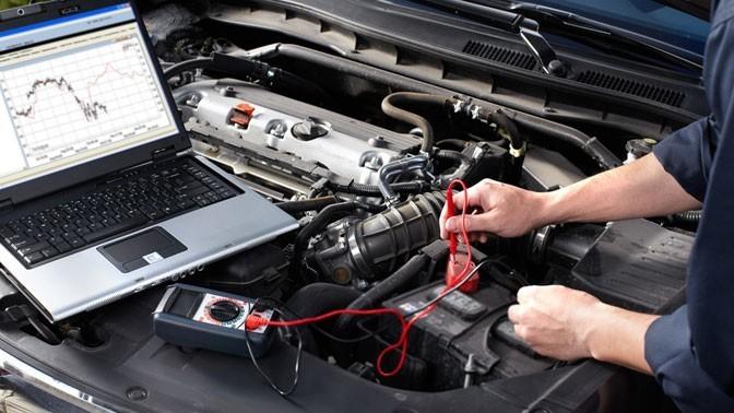 Диагностика электроники авто