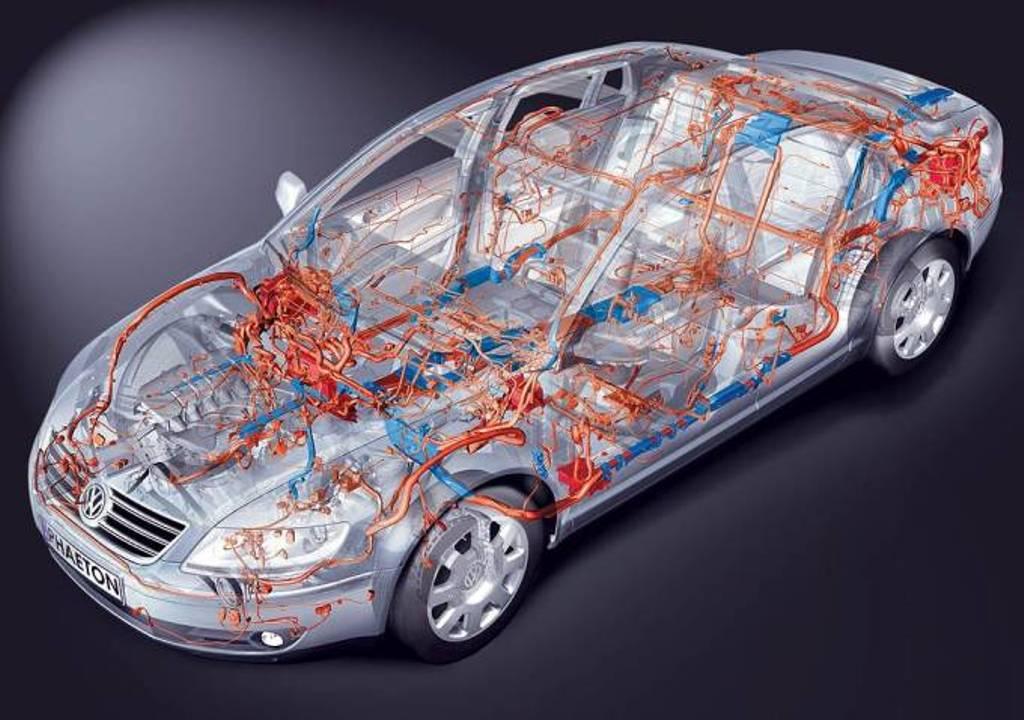 Ремонт электропроводки кузова автомобиля